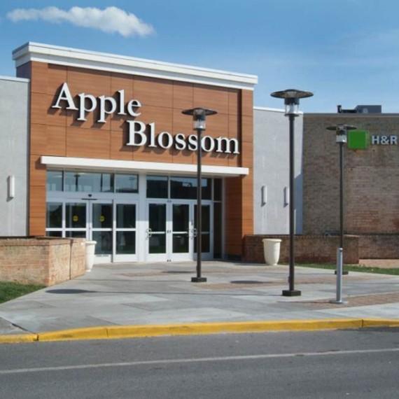 Apple Blossom Mall Entrance in Winchester VA