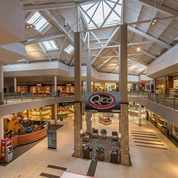 Crystal Mall Interior Renovation in Waterford CT