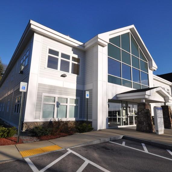 The Elliot Medical Center at Hooksett Entrance
