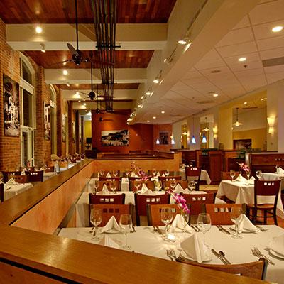 Salvatore's Restaurant Interior in Lawrence MA