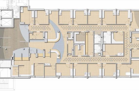 Boston Medical Center Preston 5 Floor Plan in Boston MA