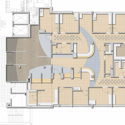 Boston Medical Center Preston 5 Floor Plan in Boston MA