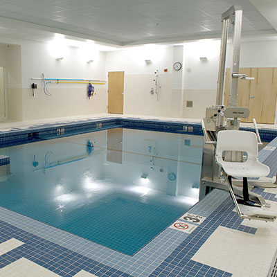 The Elliot Medical Center at Holt Ave indoor pool and rehab center in Manchester NH