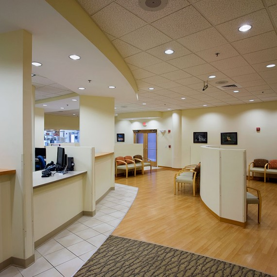 Tallman Eye Associates renovation in Lawrence MA