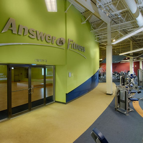 Answer is Fitness Aerobic in North Attleborough MA