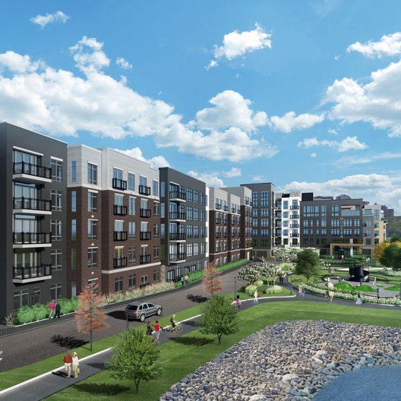 Riverfront Apartments: Architecture, Interiors, Planning