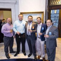 From left: Shane Wise (RWS), William Kleschinsky (RWS), Eric Samuelson (CUBE3), Zachary Richards (Bohler), Stephen Martorano (Bohler)