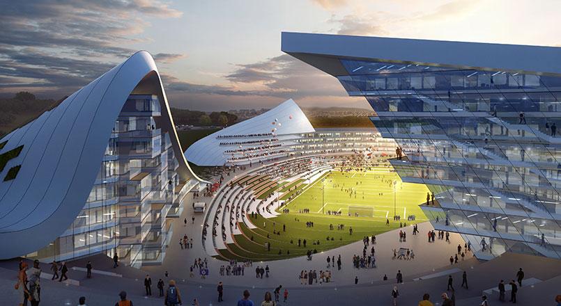 Design Competition: Aggregate Stadium