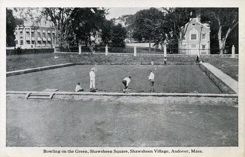 Balmoral Spa Shawsheen Village Bowling Green, Andover MA 1920's